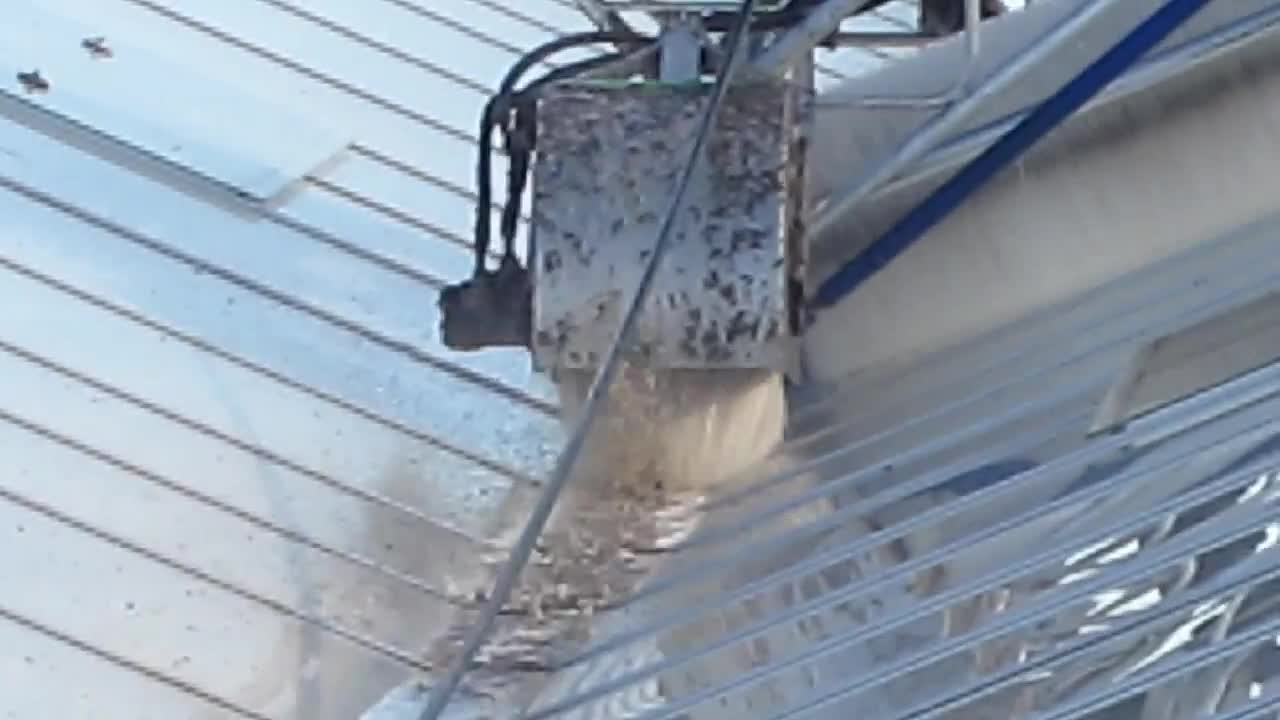 Roofmaster Light - Agro Care - Brede gootborstel 1 - Wide gutter brush 1.mp4