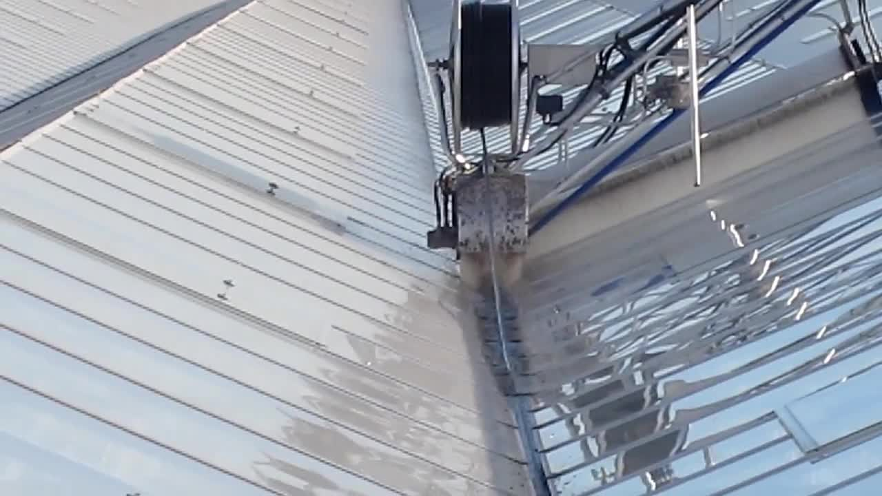 Roofmaster Light - Agro Care - Brede gootborstel 2 - Wide gutter brush 2.mp4