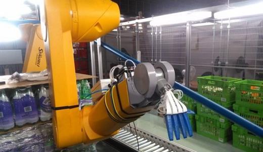 英企新款果蔬机器人分拣自动化程度进一步提高