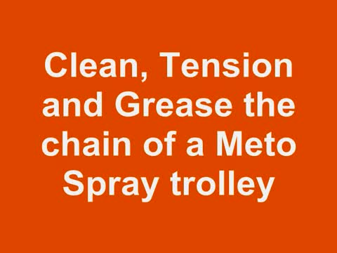 Berg Product maintain the chain of a Meto Spray trolley.wmv.mp4