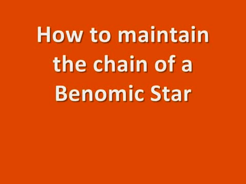 Berg Hortimotive BSA Benomic Star ketting spannen.mp4