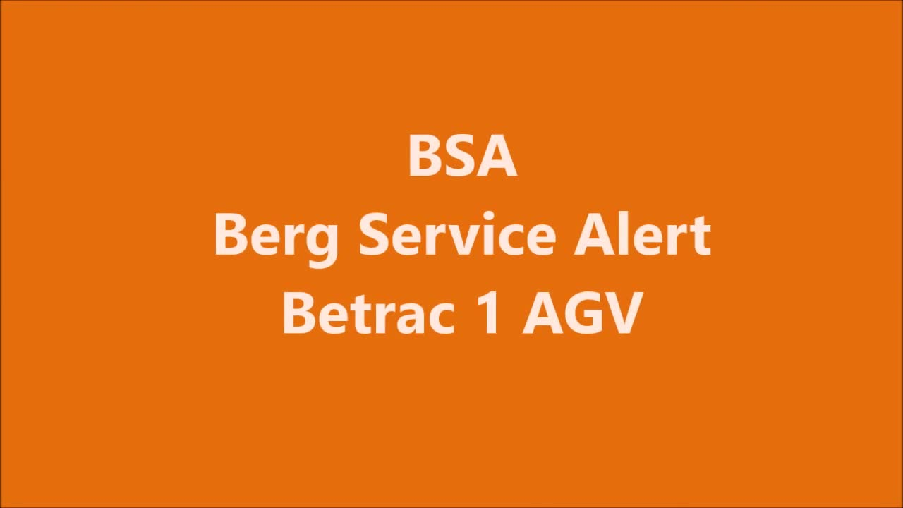 Berg Hortimotive BSA film Betrac rem en bumper.mp4