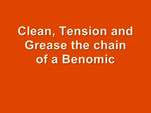 Berg Product maintain the chain of the Benomic pipe rail trolley.wmv.mp4