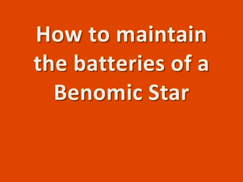 Berg Hortimotive BSA Benomic Star accu onderhoud.mp4