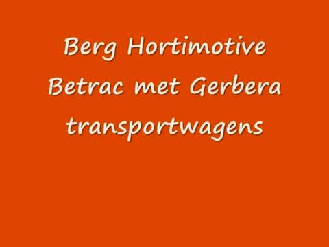 Berg Hortimotive Betrac met gerbera transportwagens.mp4